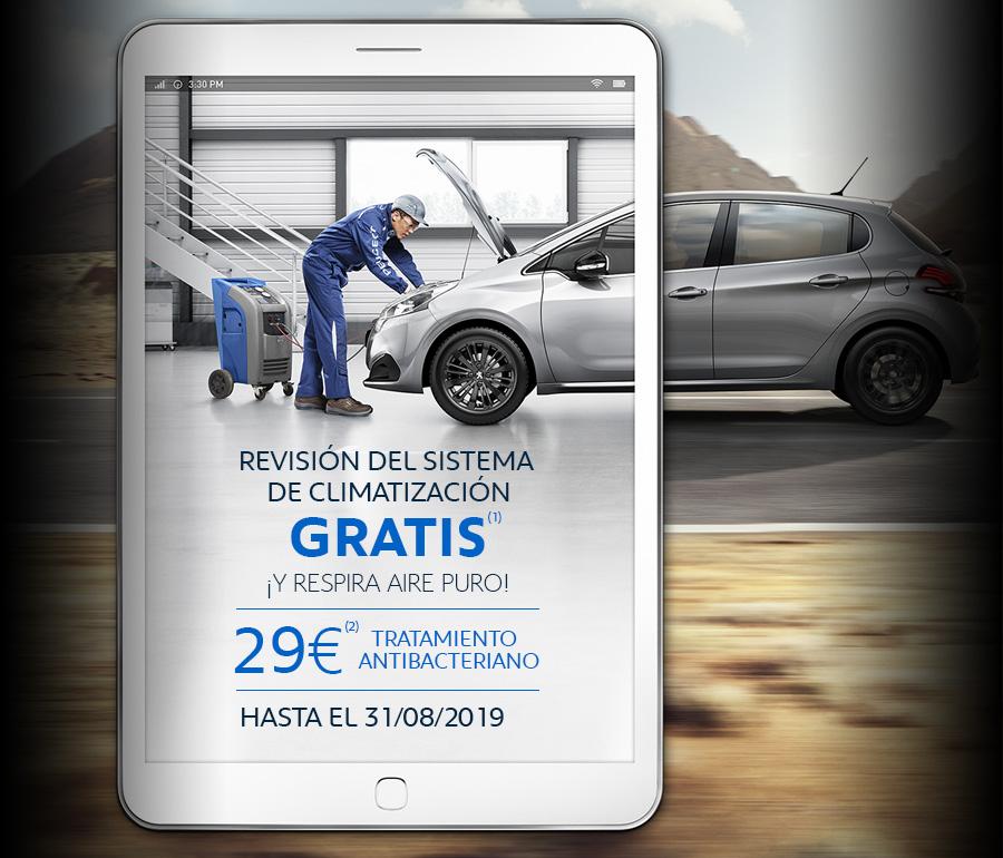 Revisión Climatización Peugeot Coruña